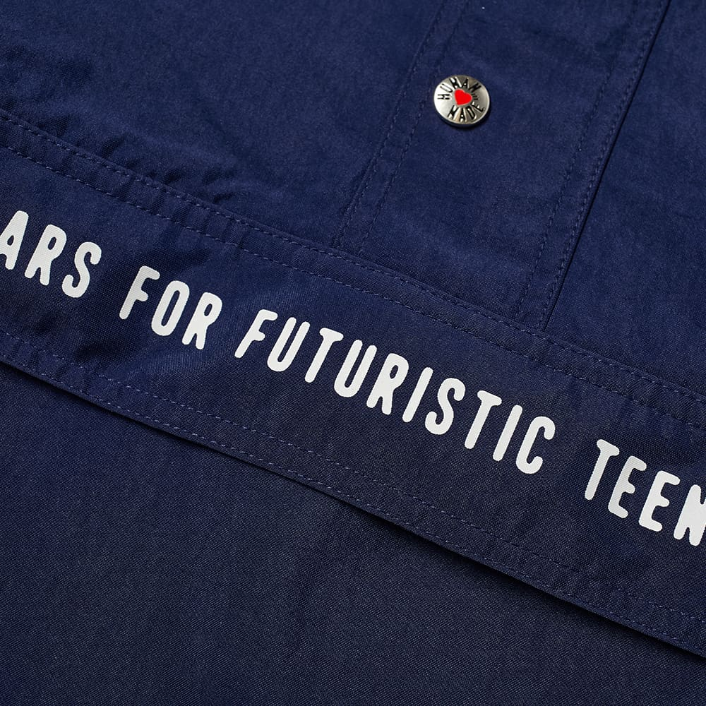 Human Made Pullover Anorak - Navy