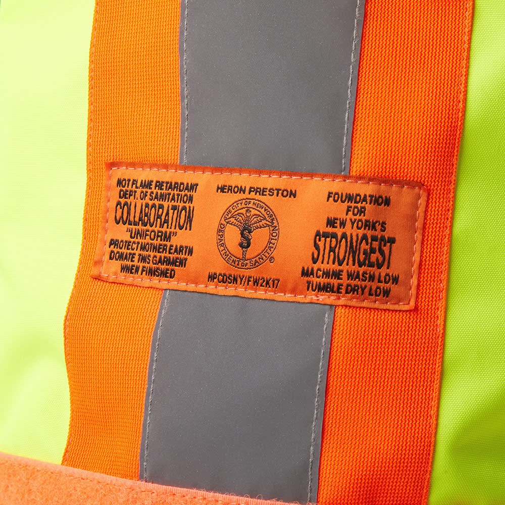 Heron Preston x DSNY Emergency Service Bag - Yellow & Orange