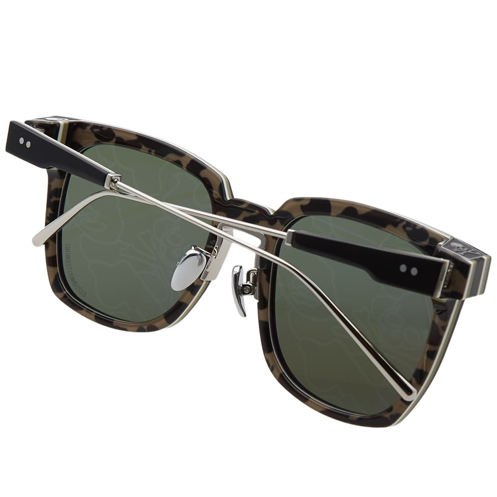 A Bathing Ape x Mastermind Japan 002 Sunglasses - Black