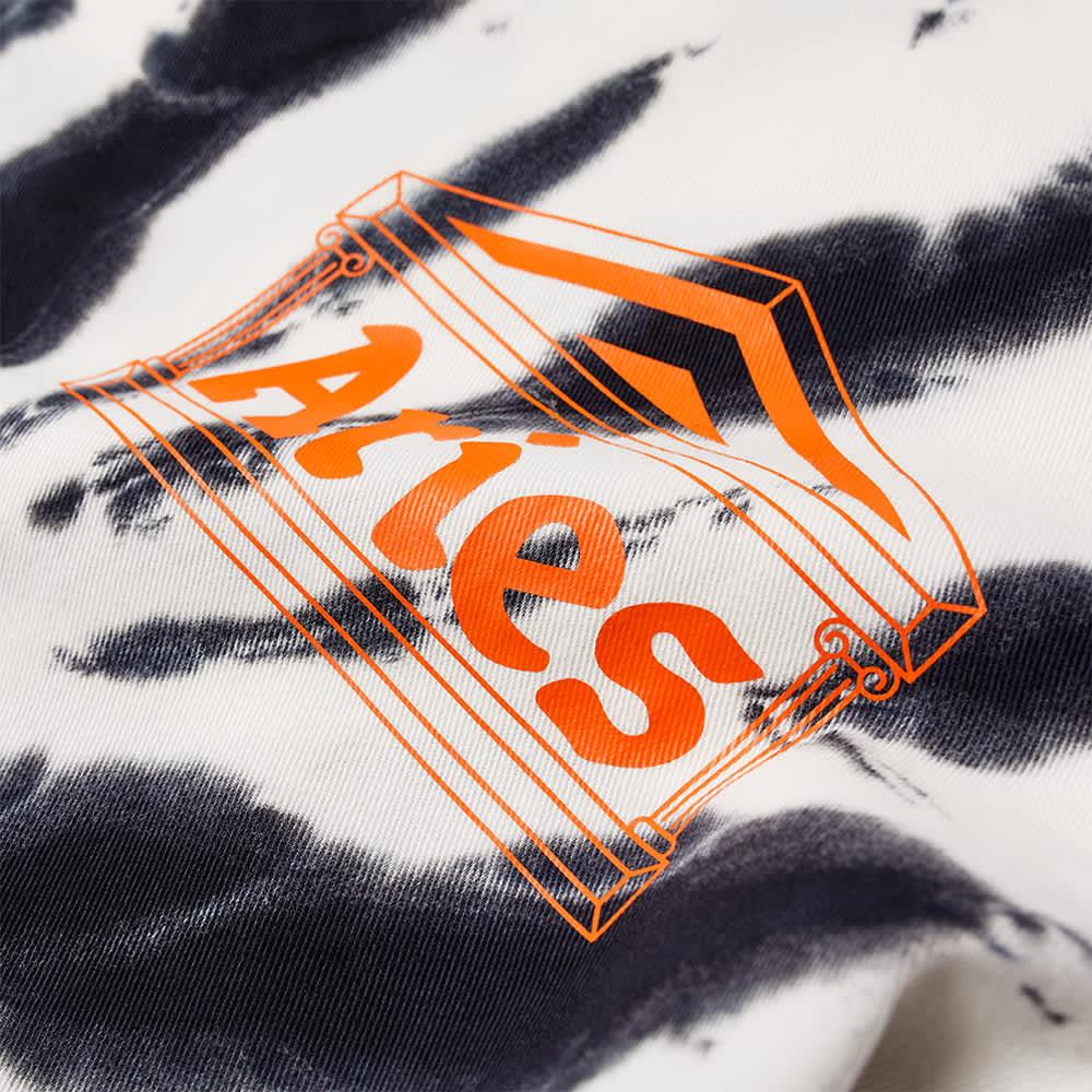 Aries x Umbro Tie Die Pro 64 Pullover Sweat - Black Spiral