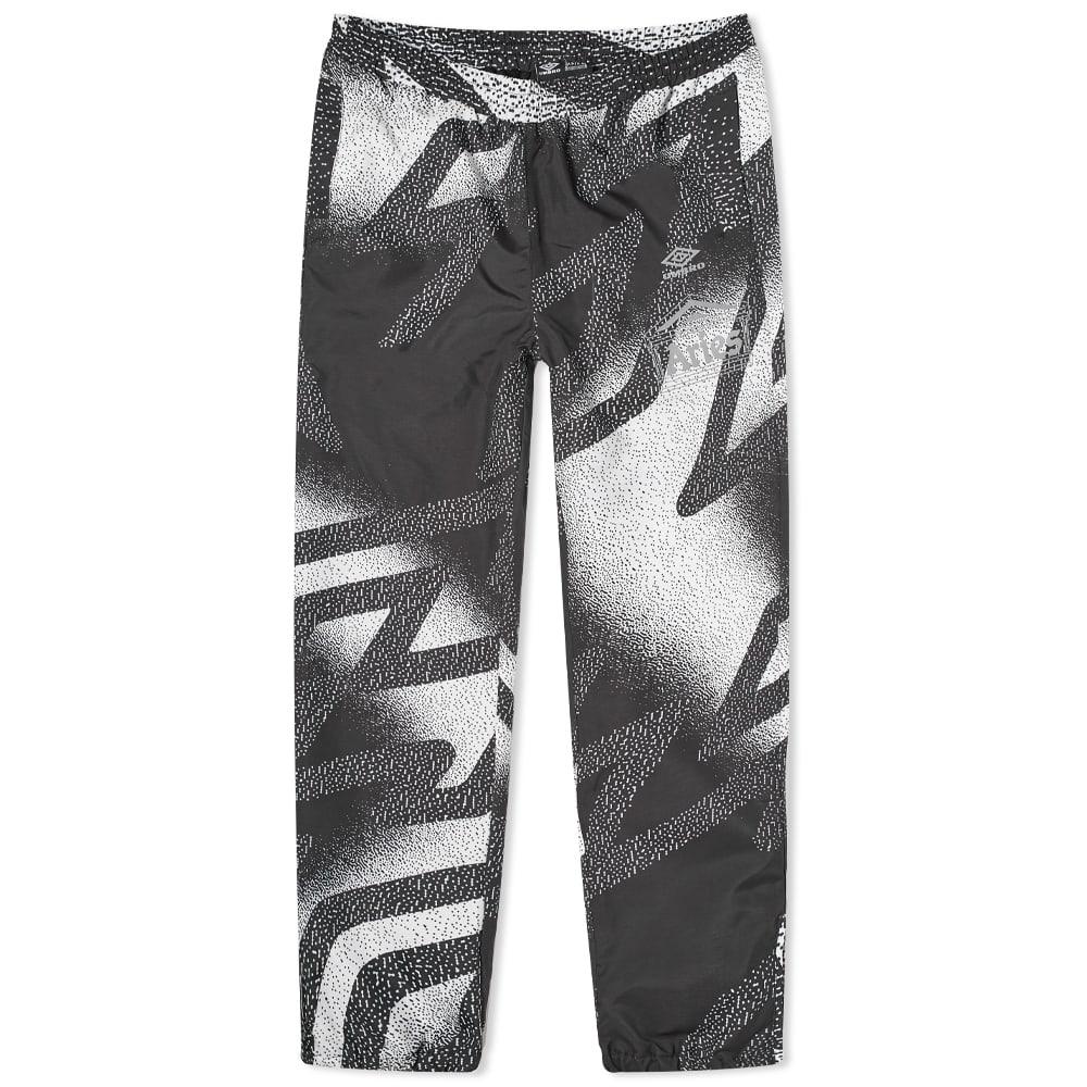 Aries x Umbro Training Pant - Black & White