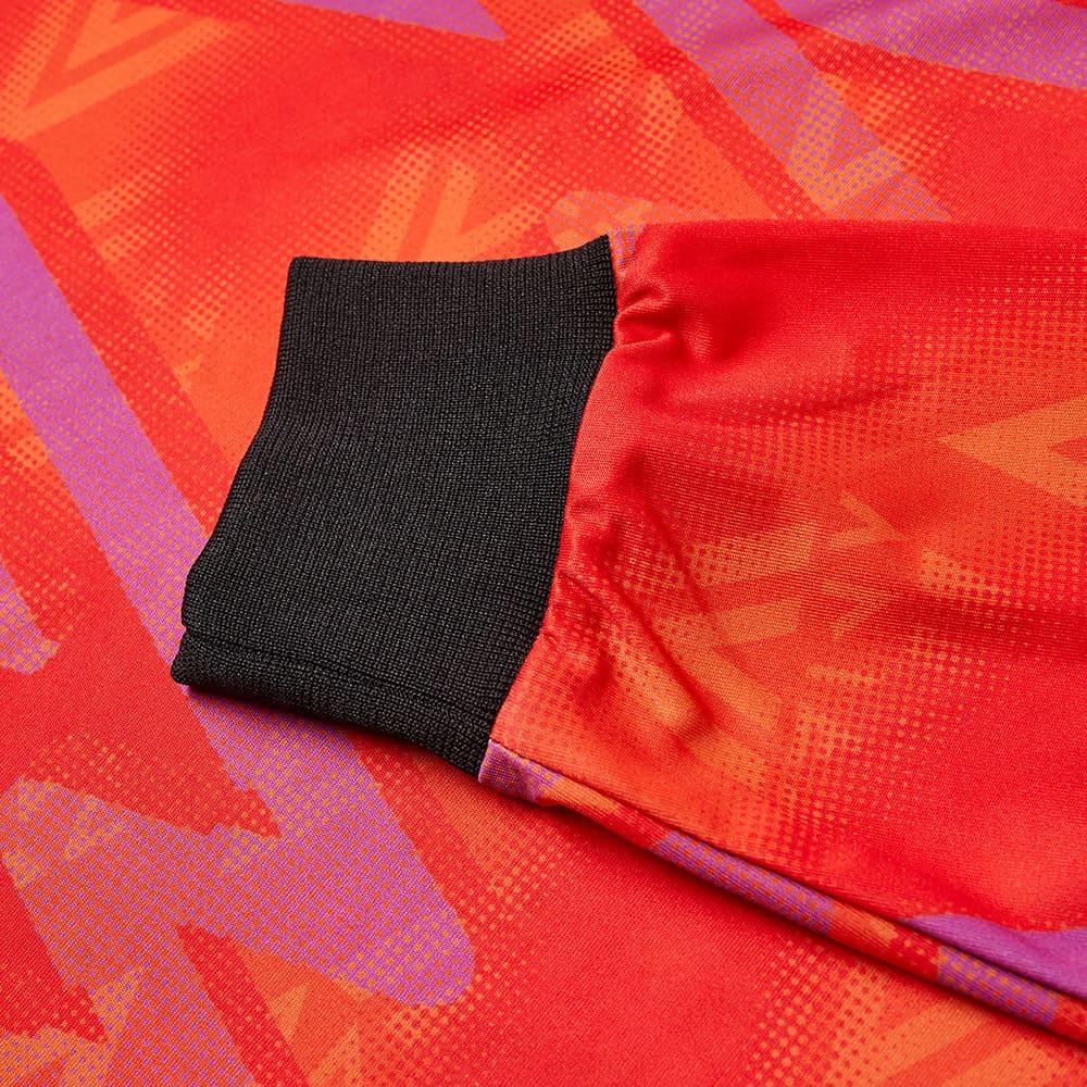 Aries x Umbro Long Sleeve Football Jersey - Red & Purple