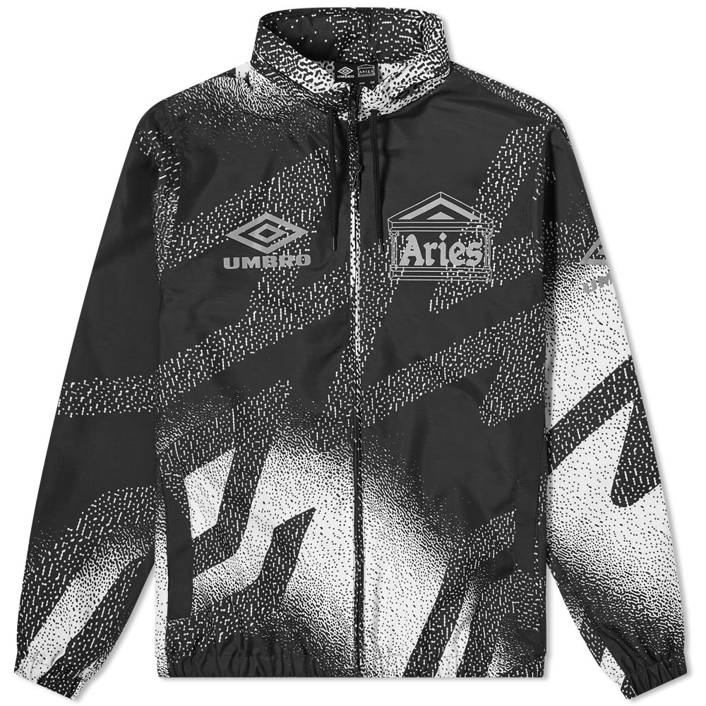 Aries x Umbro Training Jacket - Black & White
