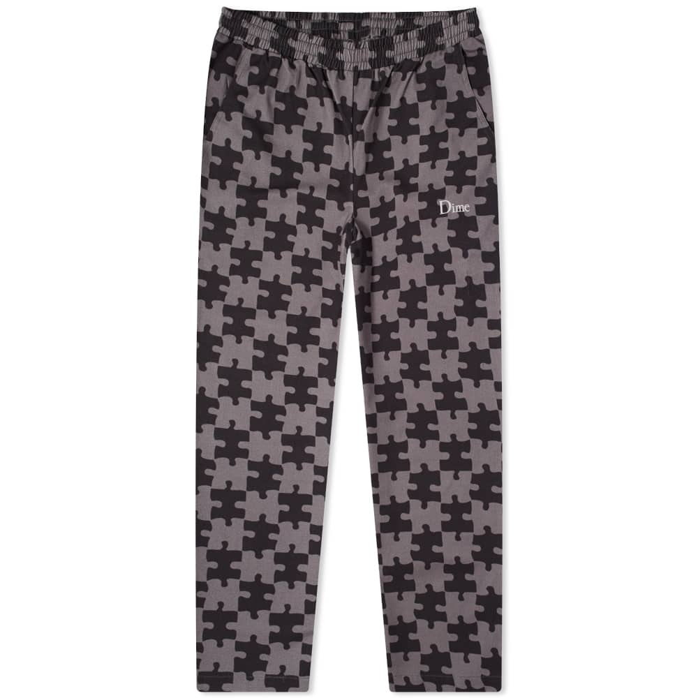Dime Puzzle Twill Pant - Charcoal