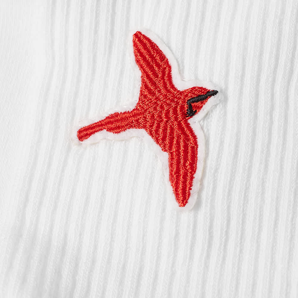 Axel Arigato Rouge Bee Bird Tube Socks - White