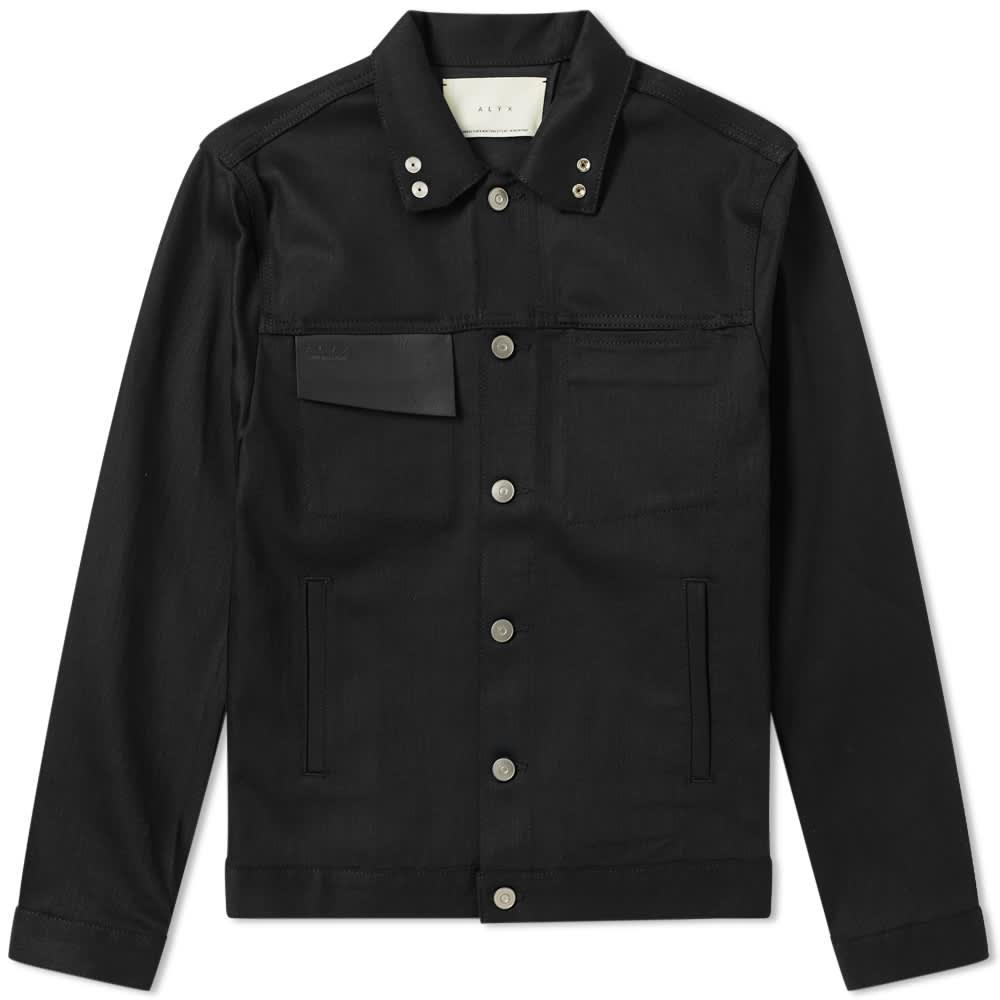 1017 ALYX 9SM Thorn Denim Jacket - Black