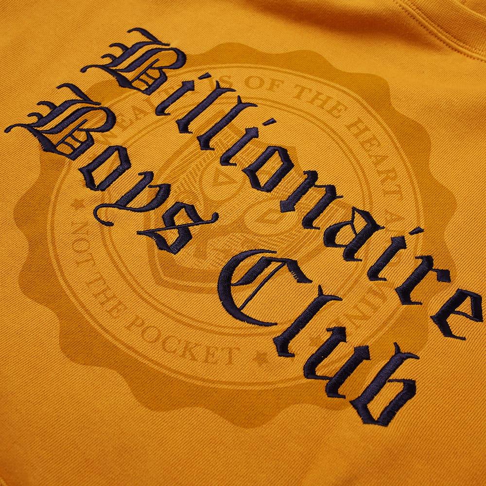 Billionaire Boys Club College Popover Hoody - Yellow