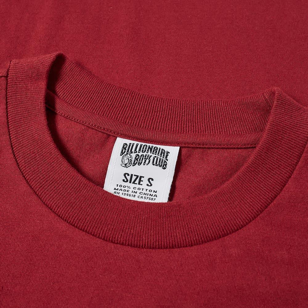 Billionaire Boys Club Paisley Arch Logo Tee - Red