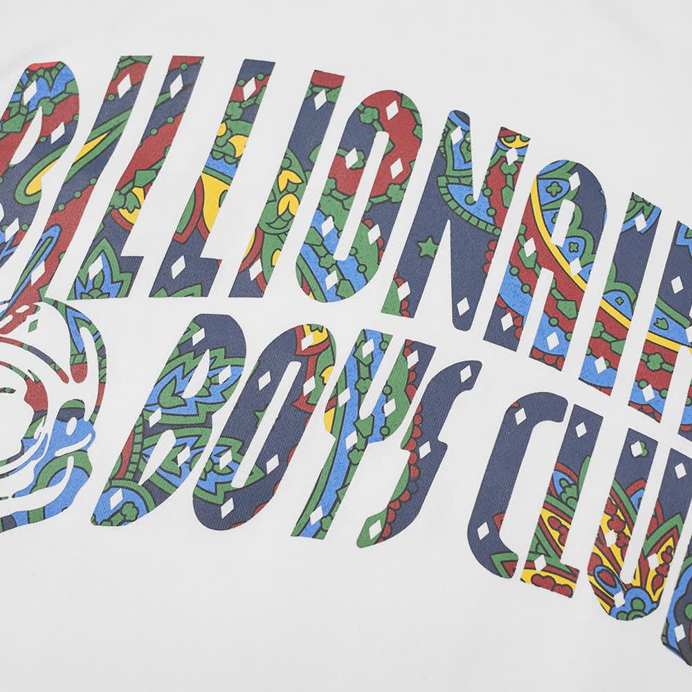 Billionaire Boys Club Paisley Arch Logo Tee - White