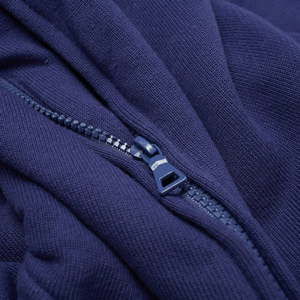 Billionaire Boys Club Rib Knit Zip Hoody - Blue