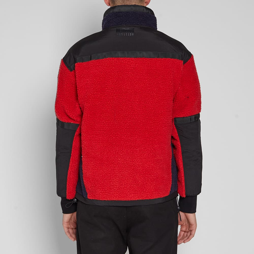 Billionaire Boys Club Sherpa Fleece - Red