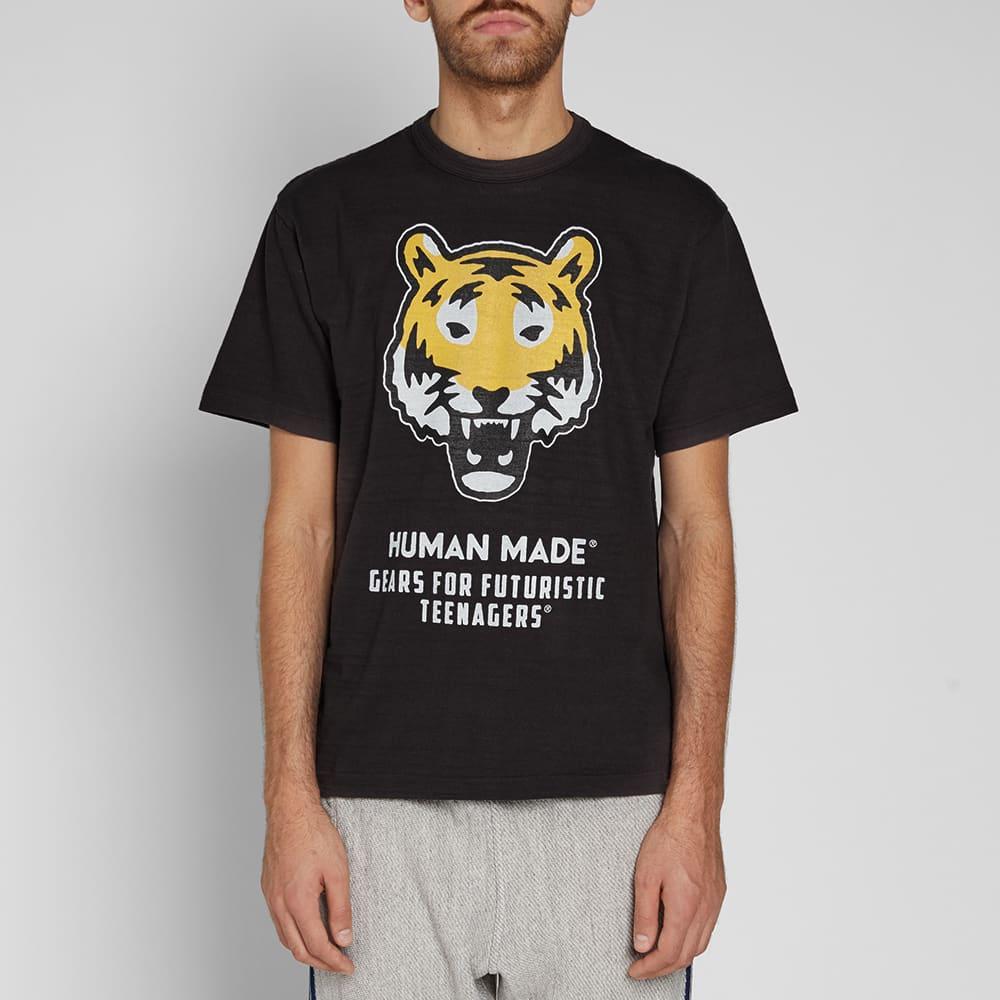Human Made Tiger Face Tee - Black
