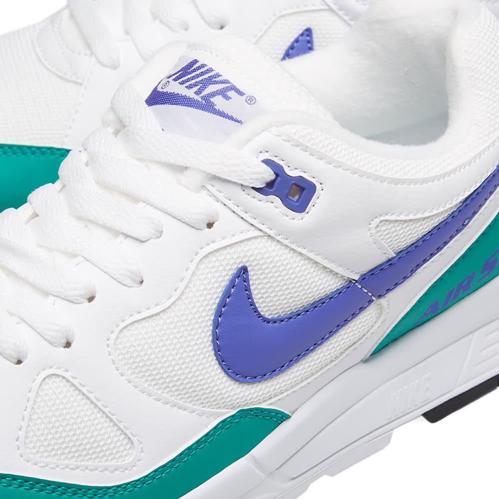 Nike Air Span II - White, Violet, Green & Black