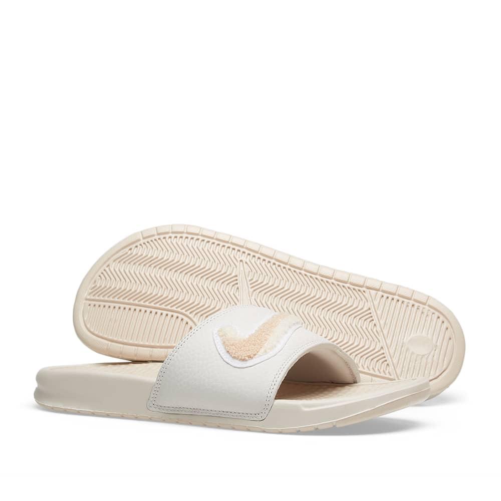 Nike Benassi JDI Chenille - Guava Ice, Phantom & Bone