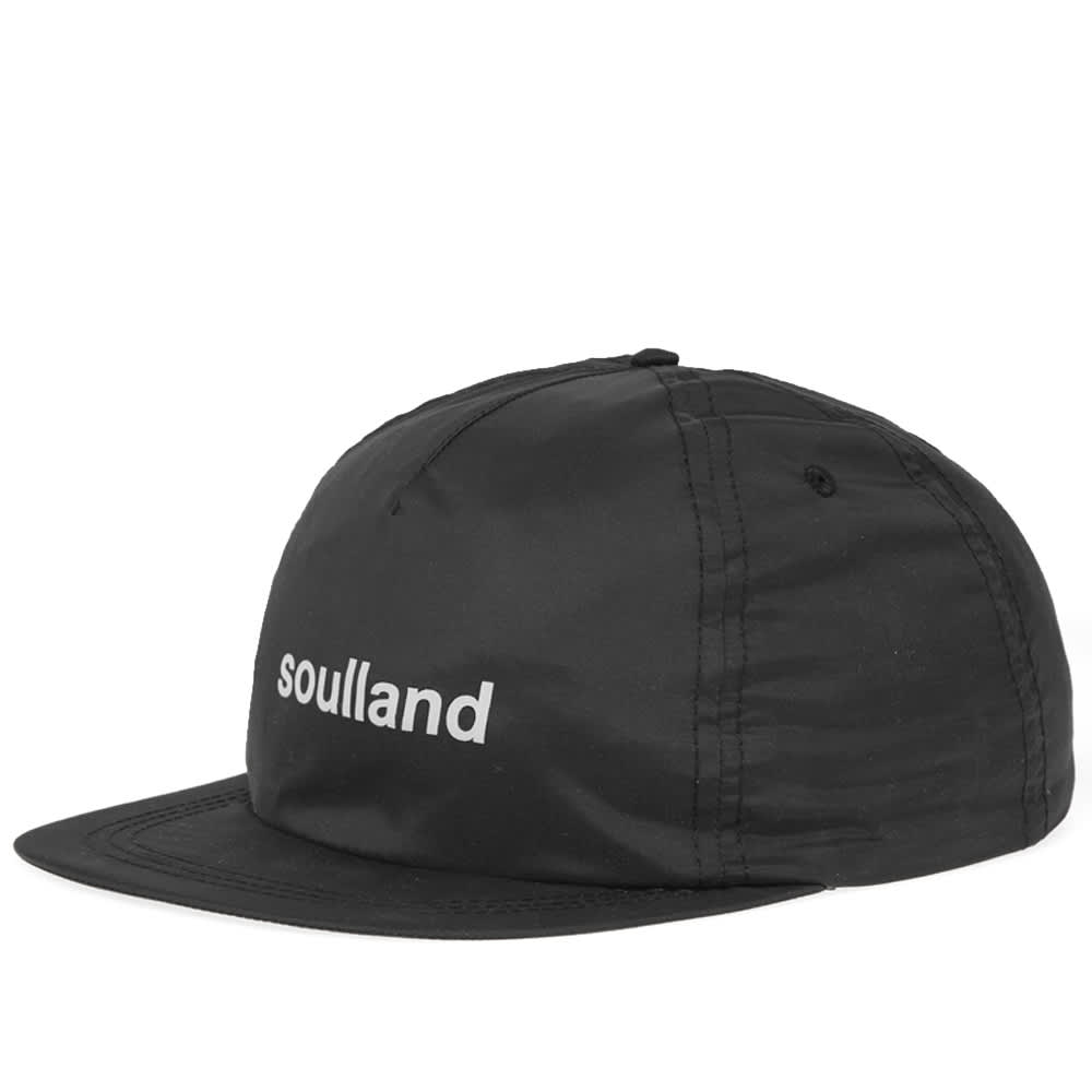 Soulland Bitterbukk 5 Panel Cap - Black