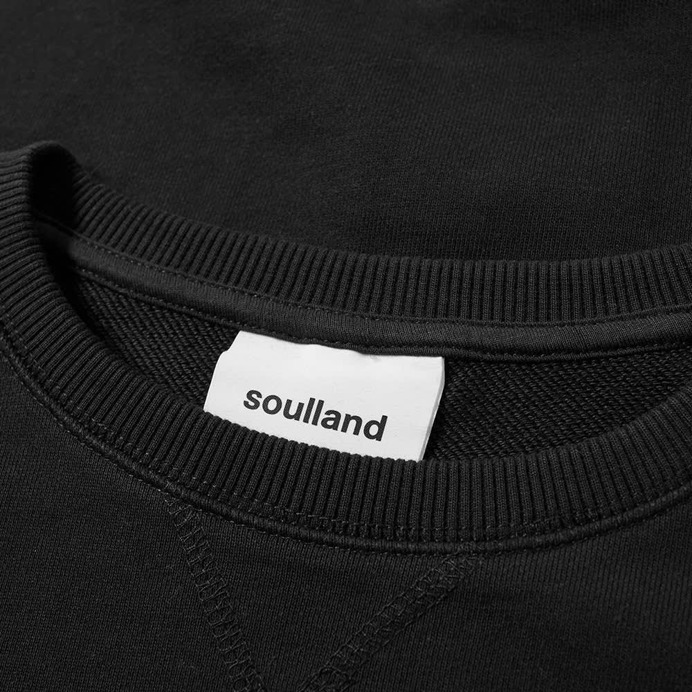 Soulland Keaton Crew Sweat - Black