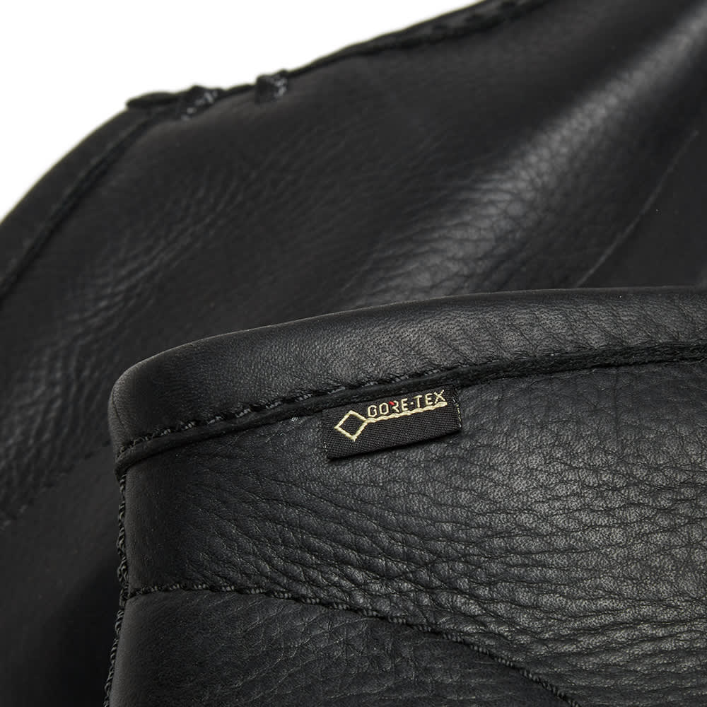 Clarks Originals Gore-Tex Wallabee - Black Leather