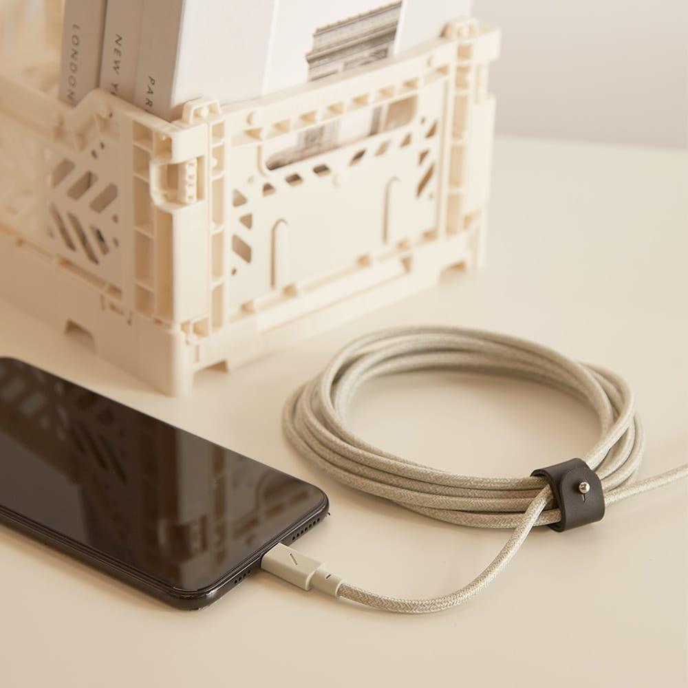 Native Union 3m Lightning Belt Cable - Sage