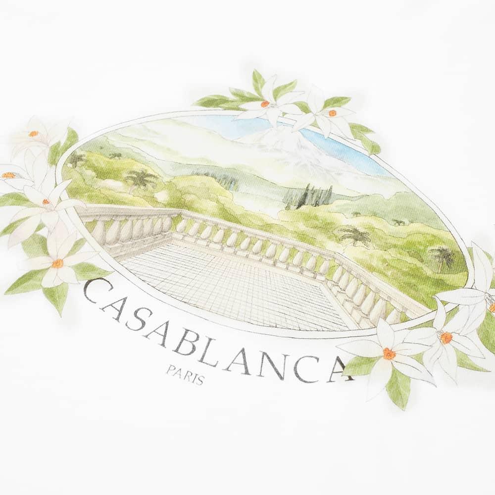 Casablanca Vista Tee - White