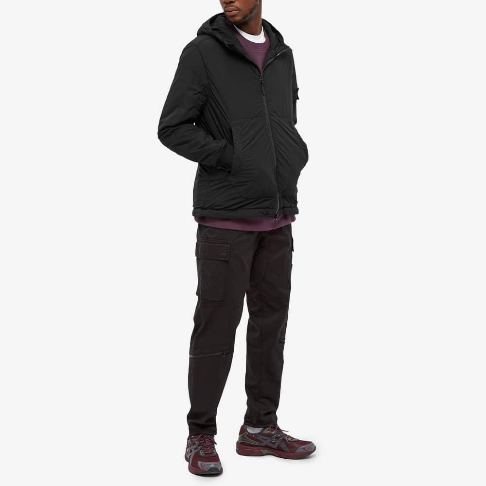 Stone Island Composite Polartec Hooded Jacket - Black