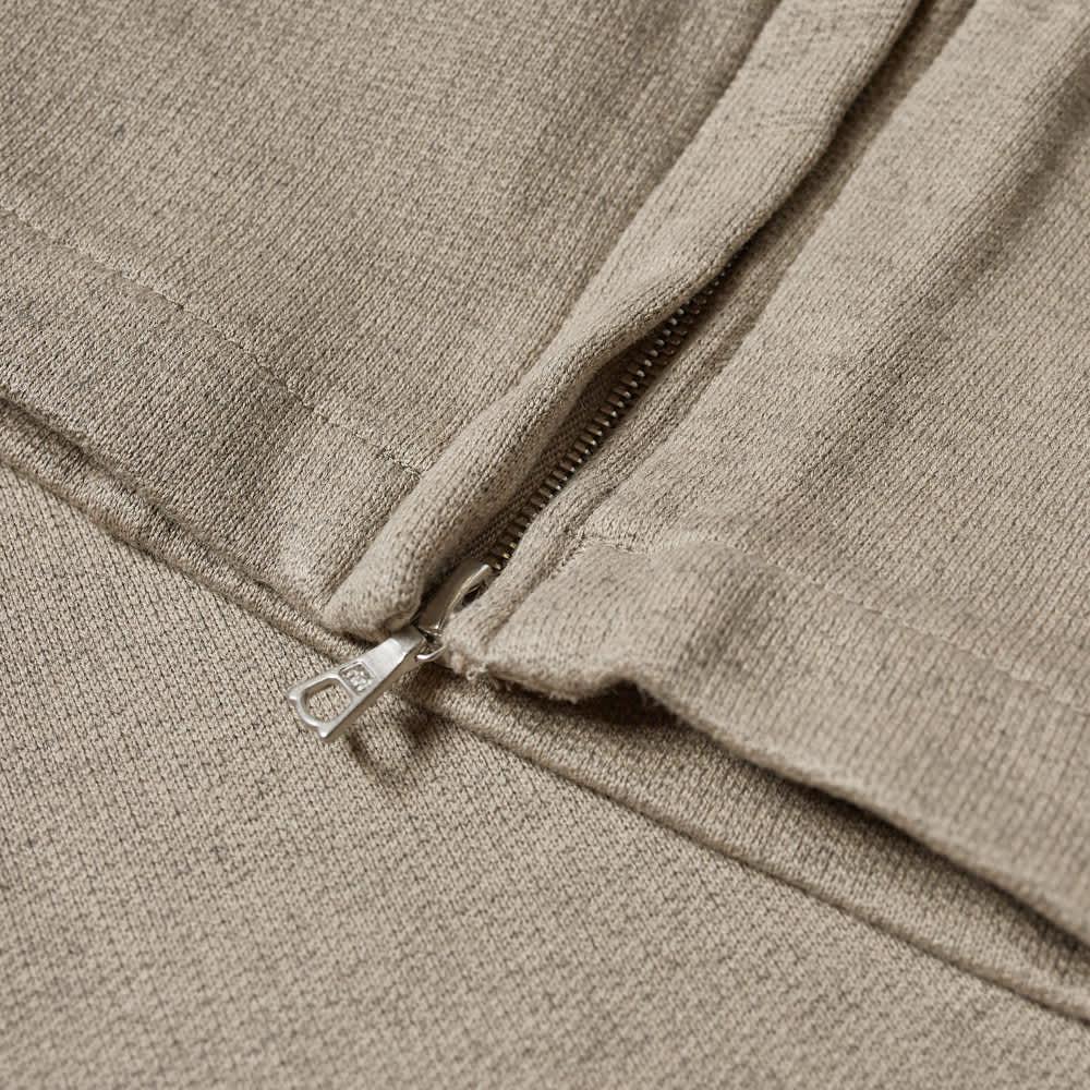 Auralee Heavy Wide Sweatpants - Top Grey Beige