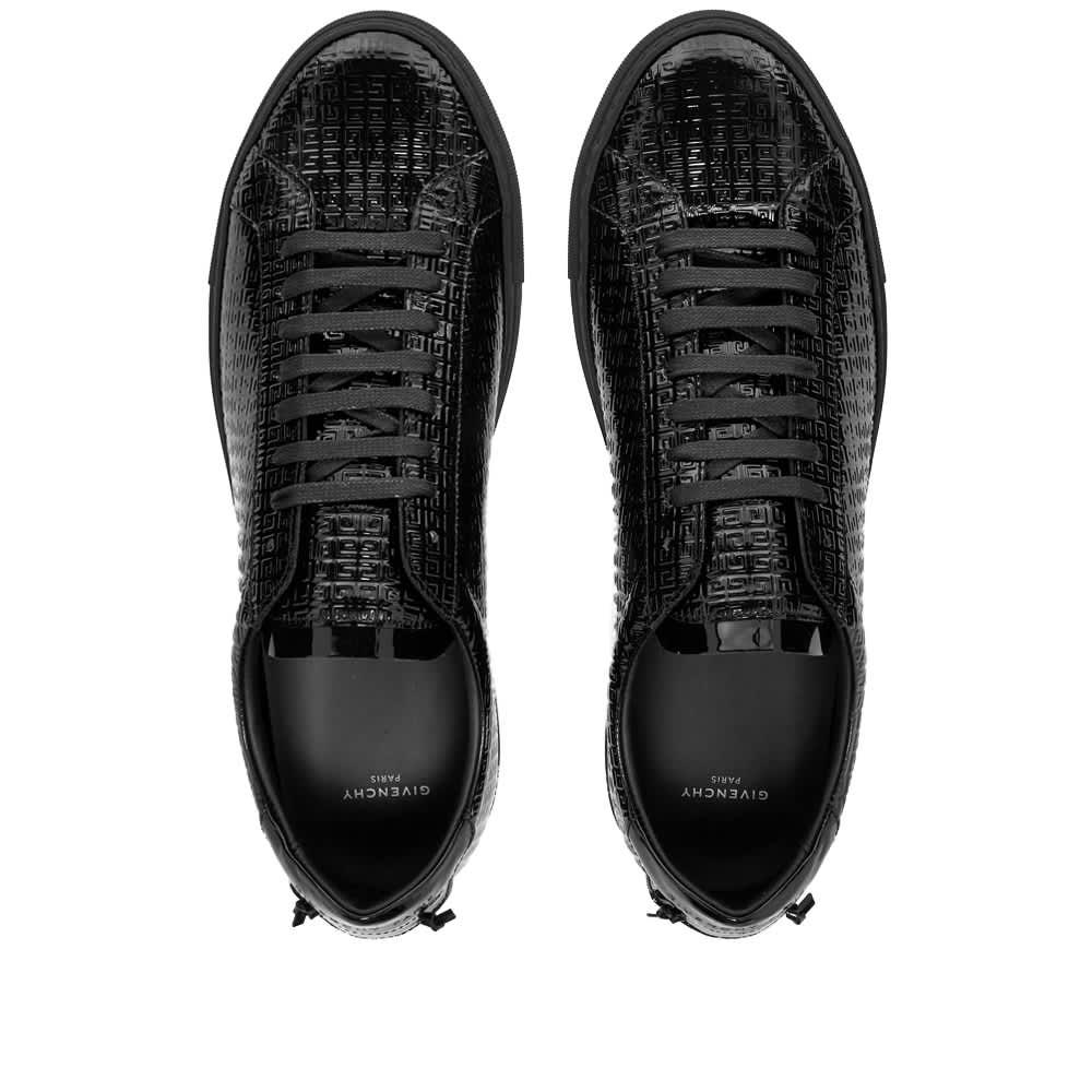 Givenchy Urban Street Low Jacquard Sneaker - Black