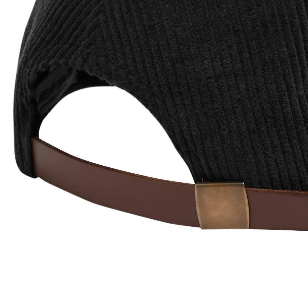 Fucking Awesome Drip Corduroy Strapback Cap - Black