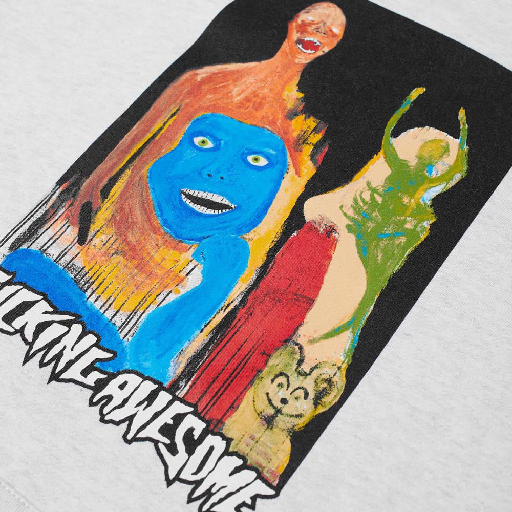 Fucking Awesome Dill Collage II Hoody - Heather Grey