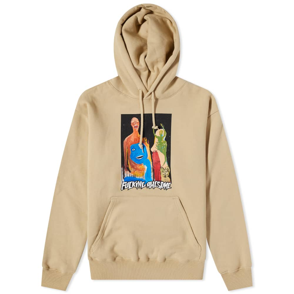 Fucking Awesome Dill Collage II Hoody - Sand