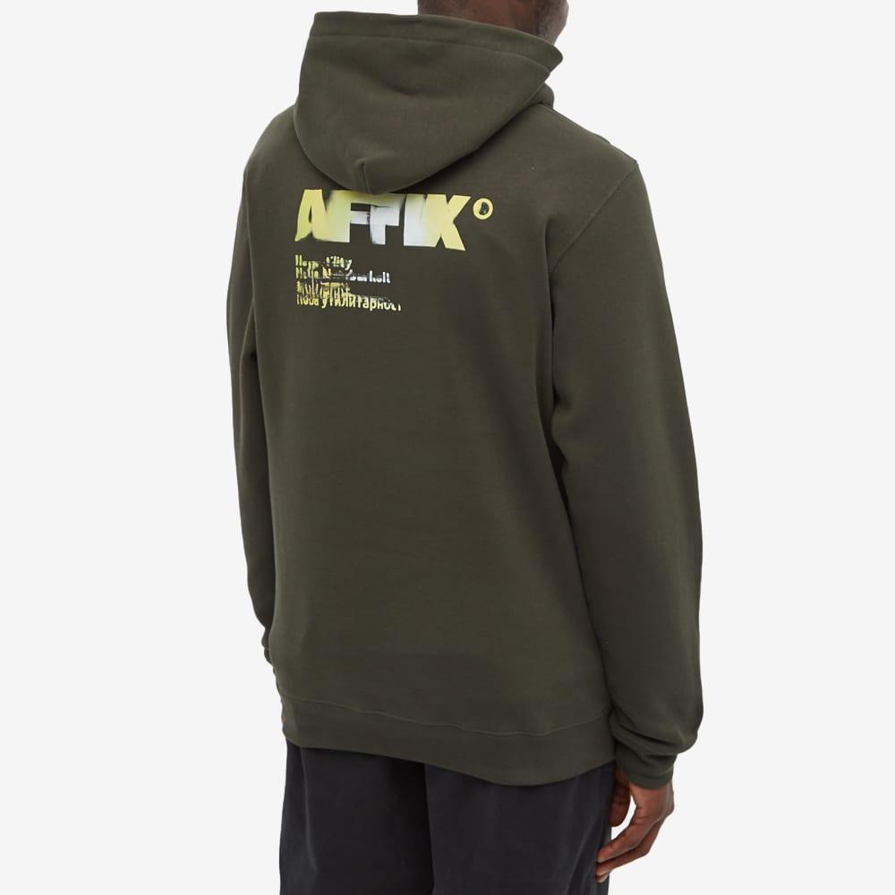 AFFIX A.I. Standardised Logo Hoody - Rosin Green