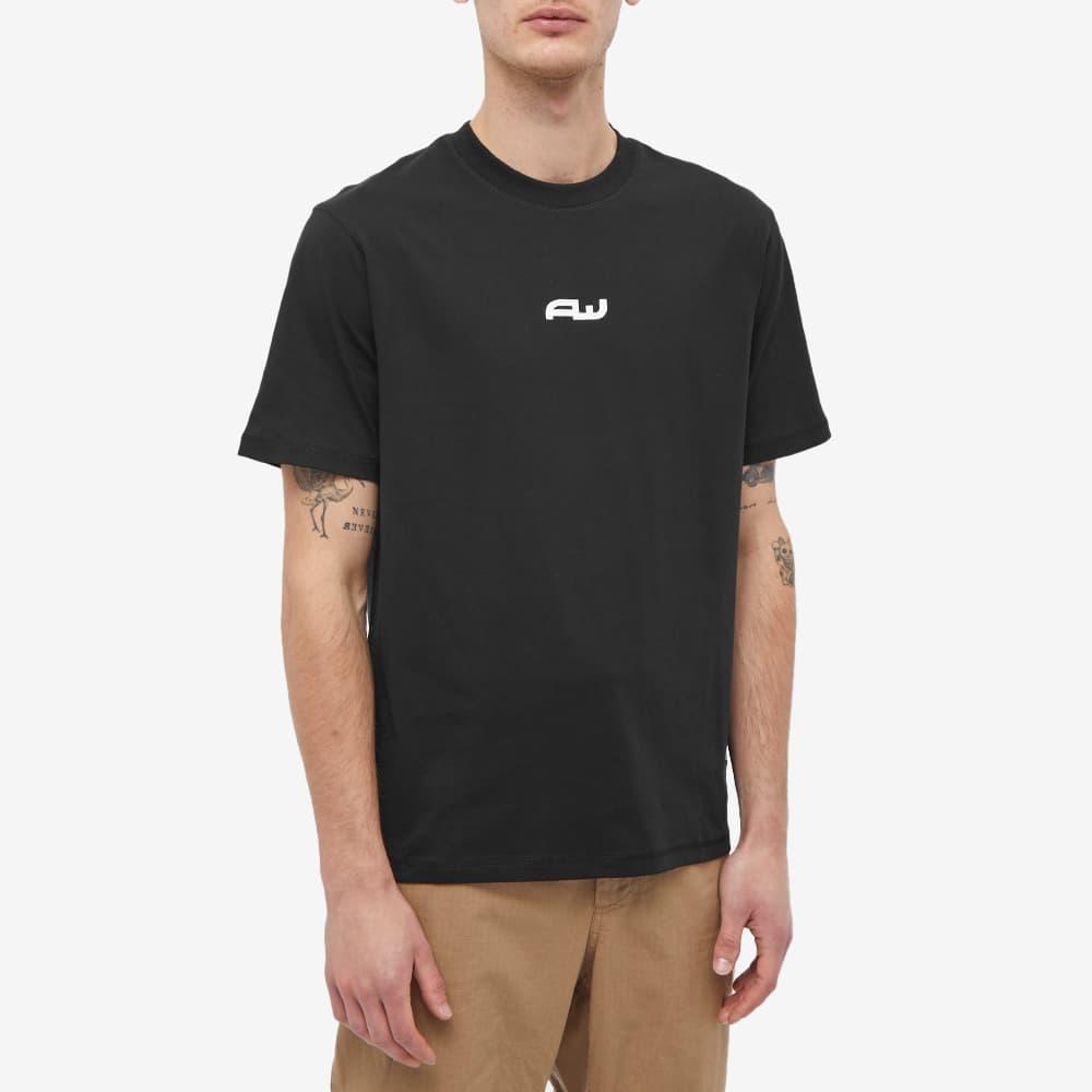 AFFIX Aw Logo Tee - Black