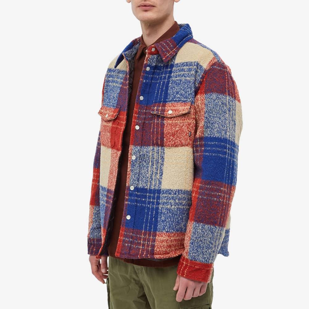Patta Wool Check Overshirt - Curry Check