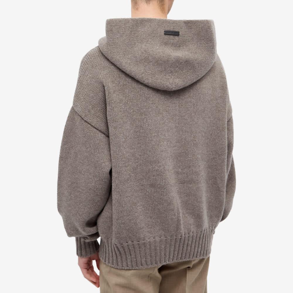 Fear of God Knit Hoody - Warm Grey