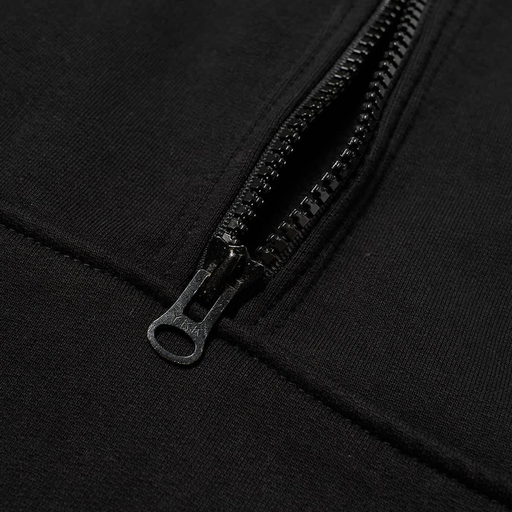 AFFIX Audial Half Zip Crew  Sweat - Black