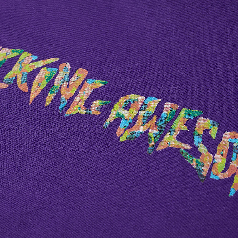 Fucking Awesome Gum Stamp Tee - Purple