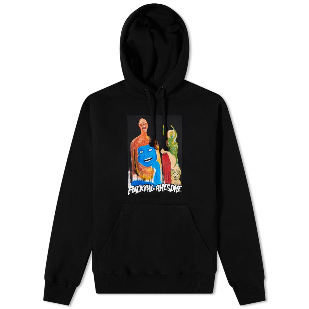 Fucking Awesome Dill Collage II Hoody - Black