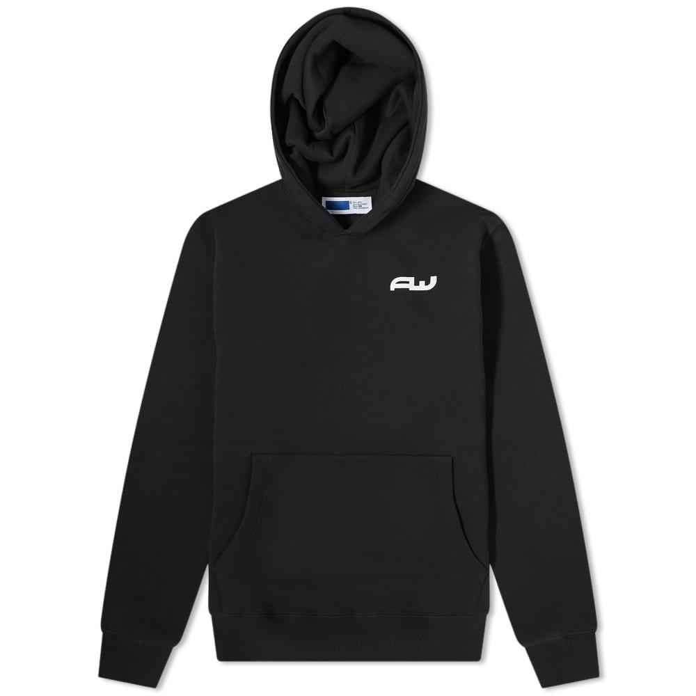 AFFIX Aw Logo Hoody - Black