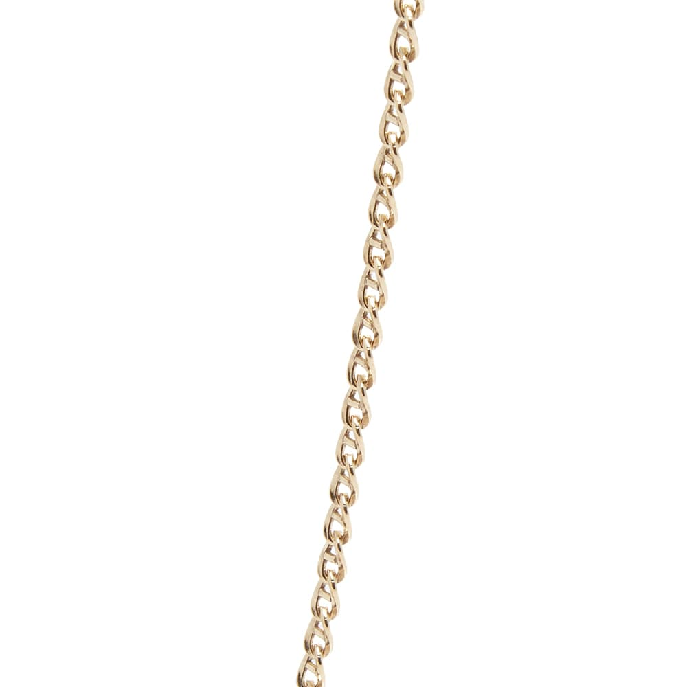 Maple Bar Curb Chain - Gold