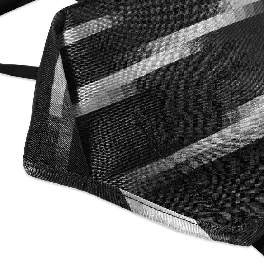 Rick Owens Zebra Mask - Black & White