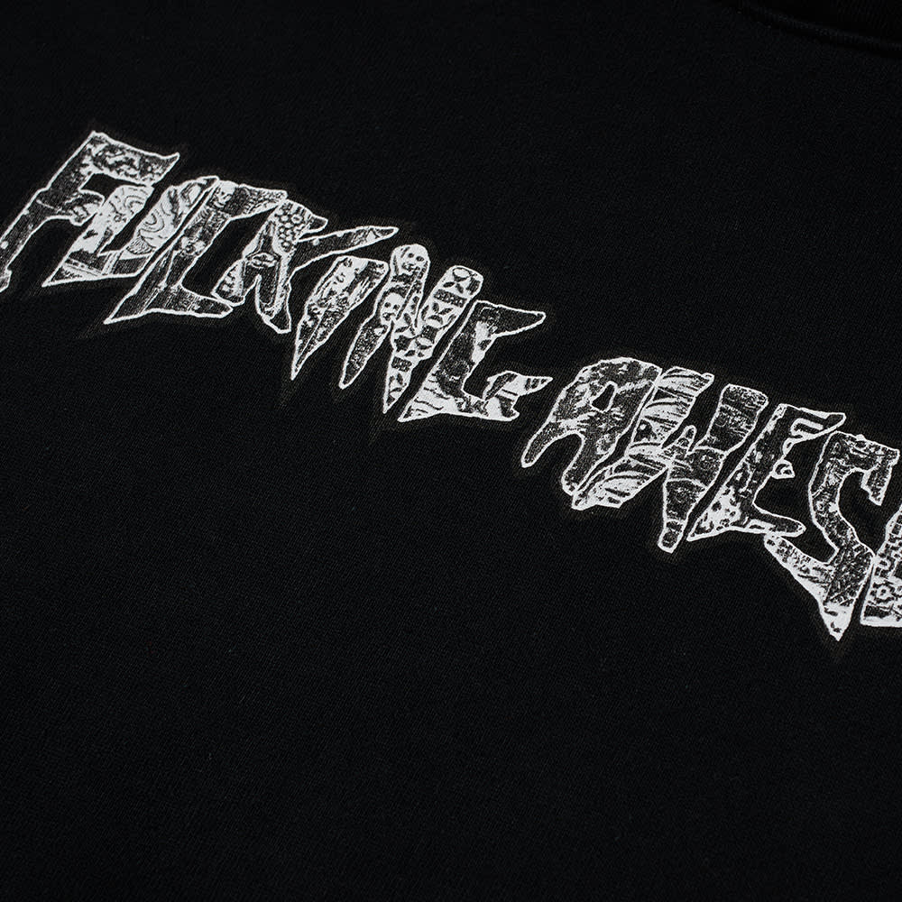 Fucking Awesome Acupuncture Stamp Hoody - Black
