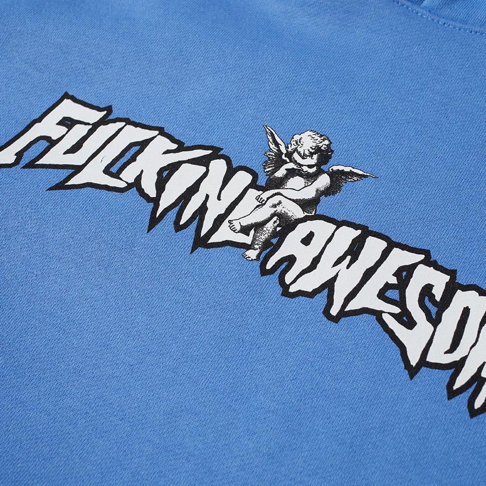 Fucking Awesome Filigree Hoody - Light Blue