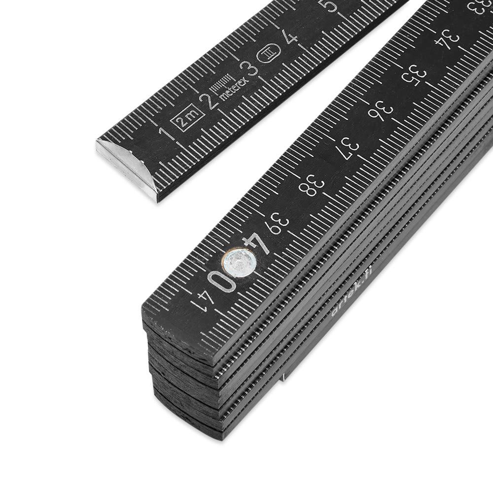 Artek Folding Ruler - Black Lacquered Beech