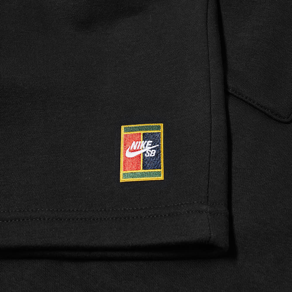 Nike SB Court Logo Shorts - Black & Black