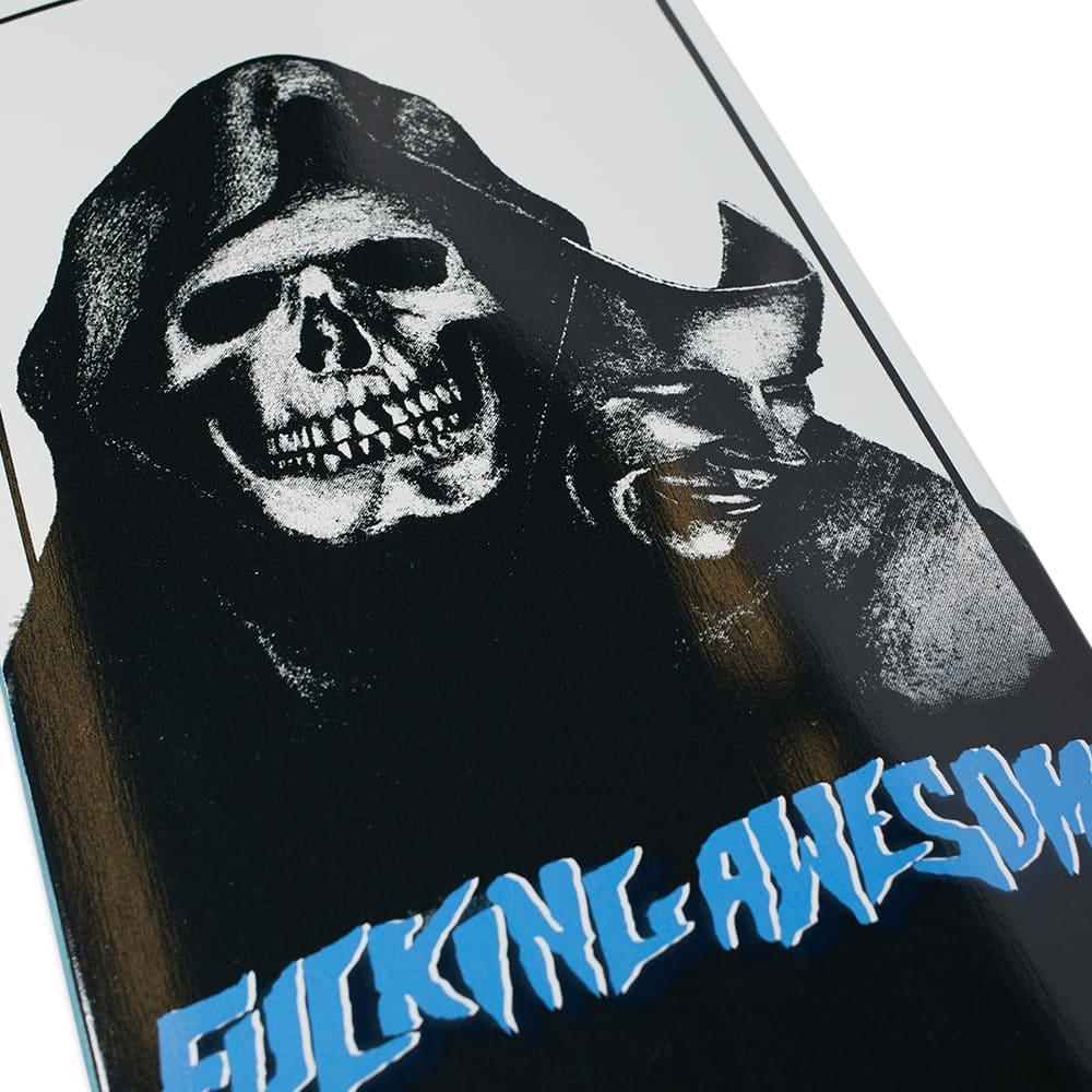 "Fucking Awesome Santana Deck - 8.18"" - Black & White"