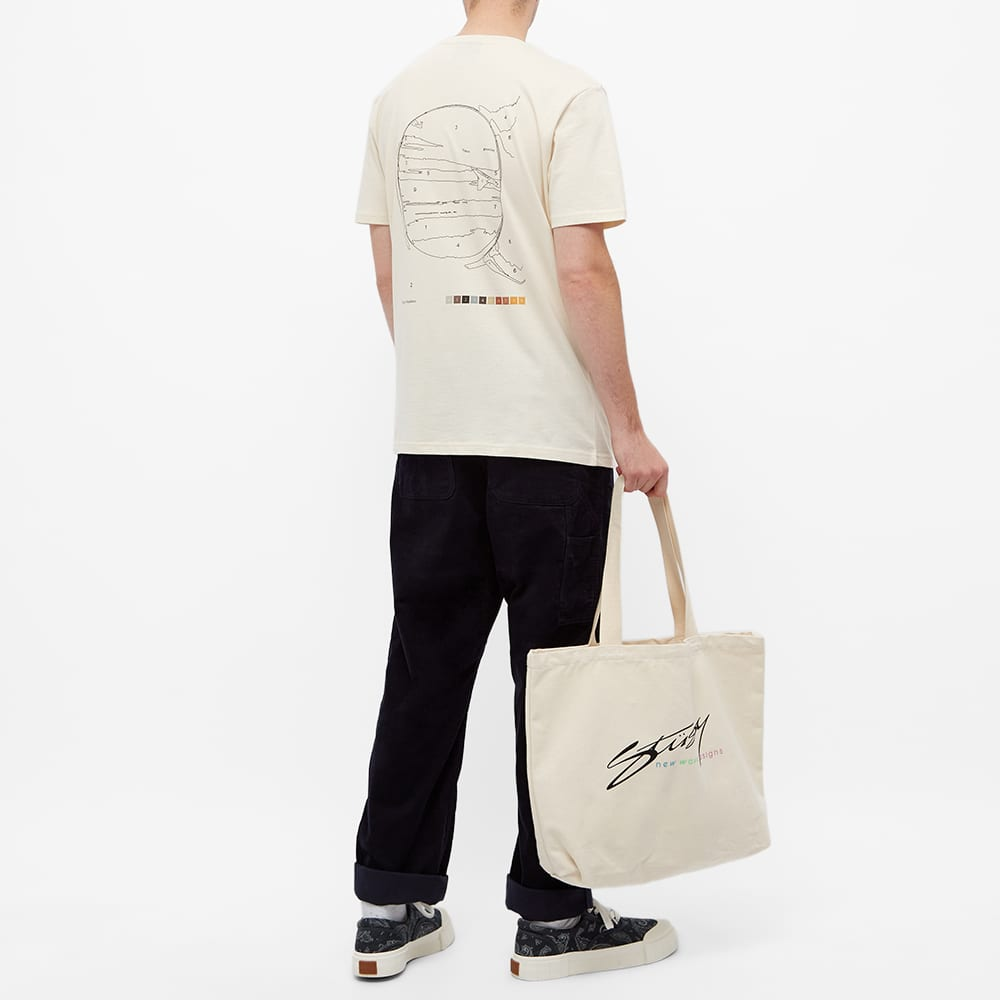 Times New Roman Paint By Numbers Organic Tee - Natural