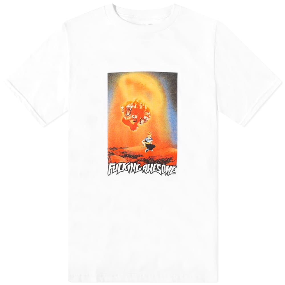 Fucking Awesome Arrival Tee - White