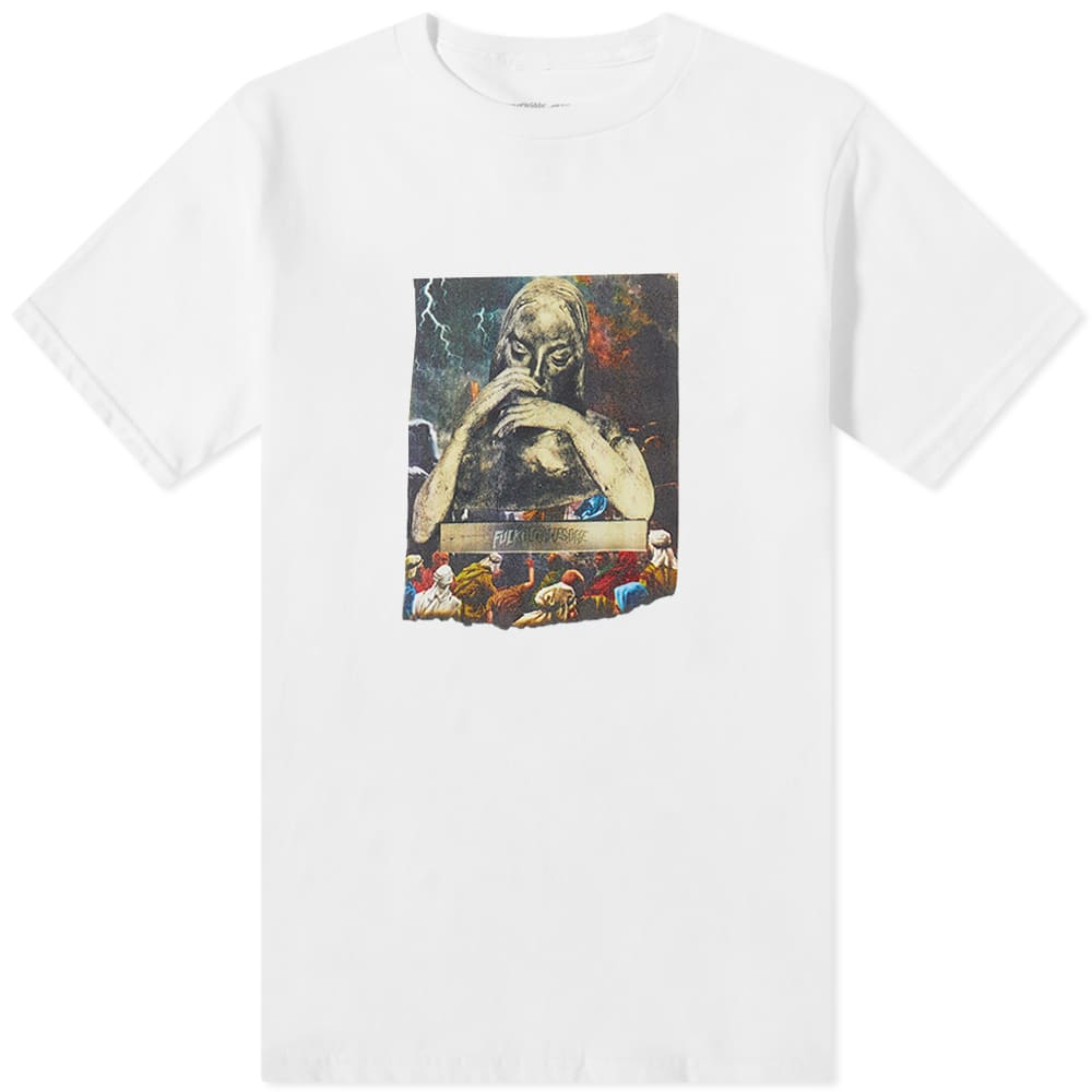 Fucking Awesome Saint Mary Tee - White