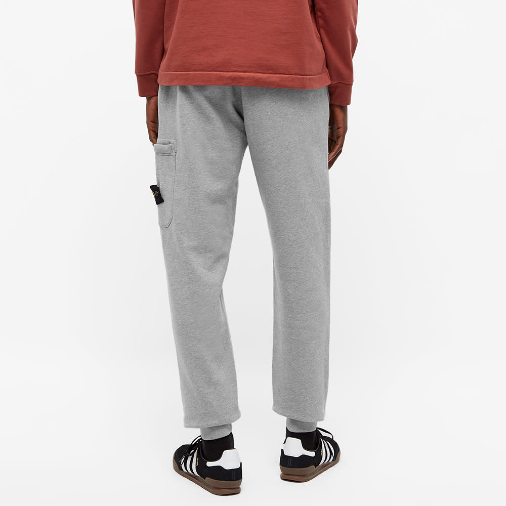 Stone Island Garment Dyed Jogger - Grey Melange