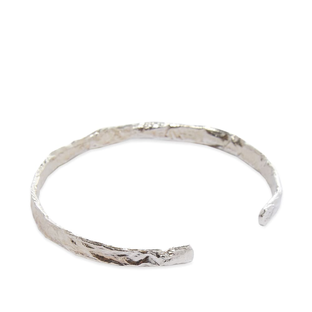Other 925 Crushed Band Cuff - 925 Sterling Silver