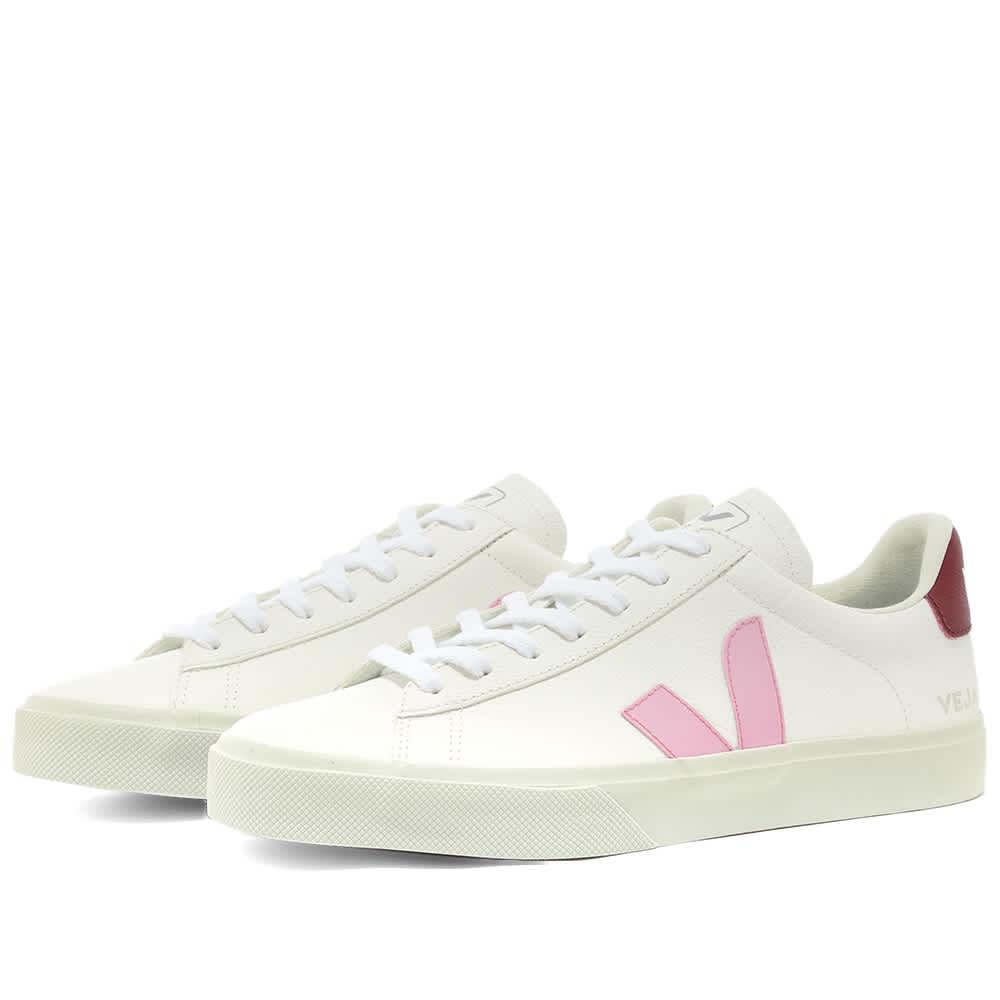 Veja Campo Sneaker White \u0026 Pink | END.